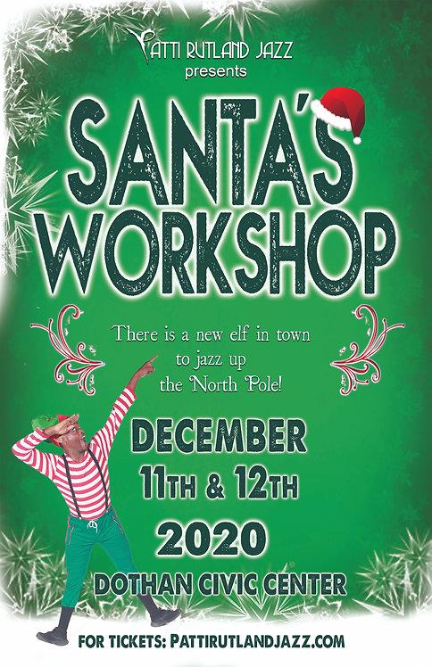 Santa's Workshop Virtual Live- Stream 12/12 @ 6:30 PM