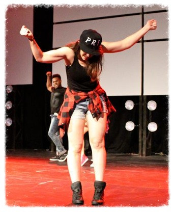Christina performing in Ignite