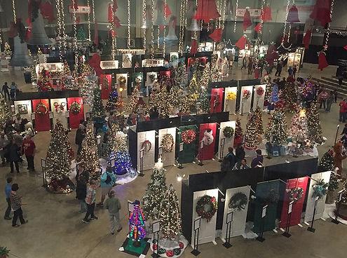 festival of trees designer displays