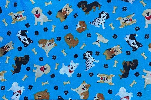 Dogs in Blue