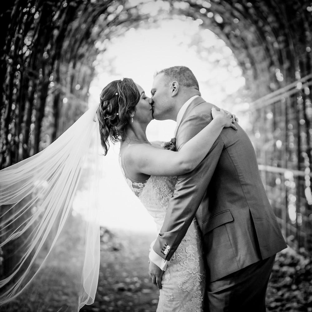 Trouwfoto gemaakt in Vught door trouwfotograaf Vincent Rijkers uit Vught