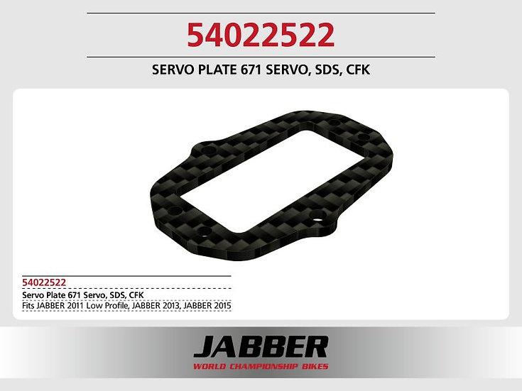 Servo mounting frame 671 Servo f. SDS 2.0