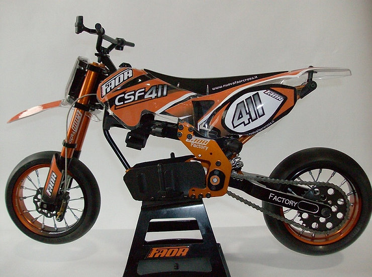Nuova Faor CSF-411Factory Spec Supermoto Electric
