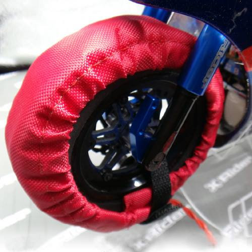 1:8 Tyre Warmers with thermostat & power supply