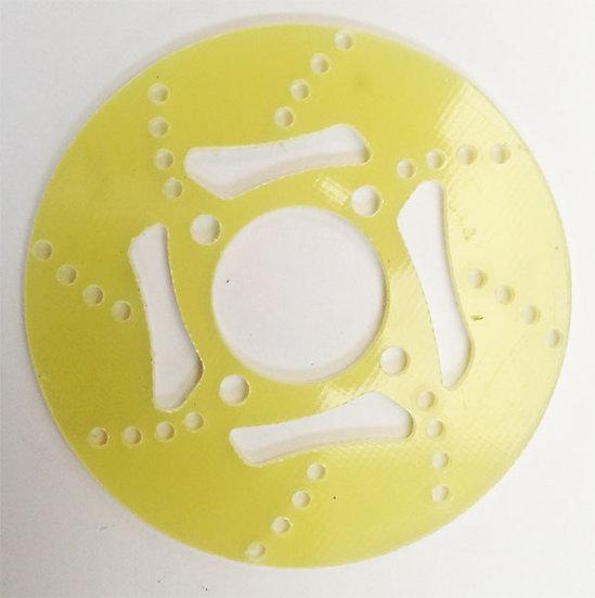 Front brake disc in Vetronite Evo 3.1