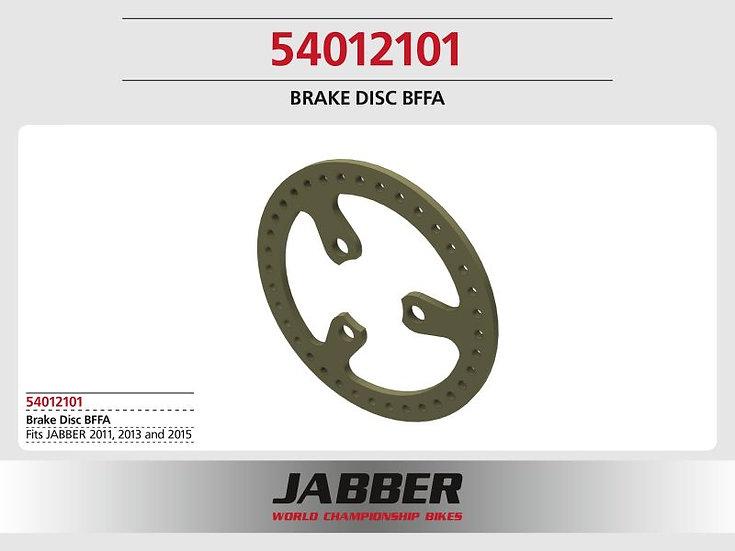 LIGHTSCALE Brake Disc BFFA GFK for front brake Jabber