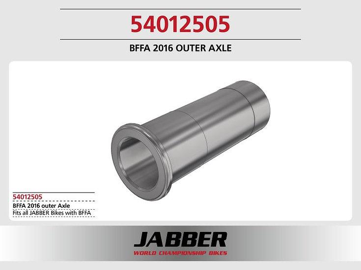 Front axle outside BFFA2016, steel Jabber