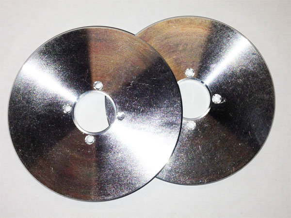 Discs in Aluminum for the bike setup
