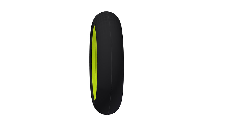 ROADIES Bike tire rear B3, on rim 2016