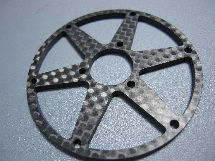 ZH-Kyosho Rear Carbon spoke rim (Type 1)