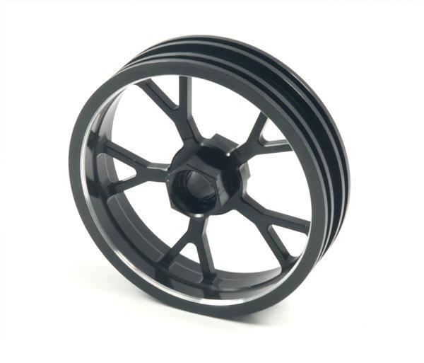 ZH Racing Z-201B Wheel Y Spoke Black Front