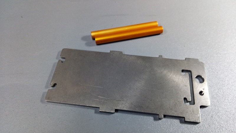 ZH-Kyosho KB3 Chassis weight
