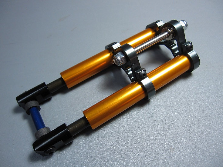 ZH-Kyosho HOR Oil Forks & Alloy Triple Clamps