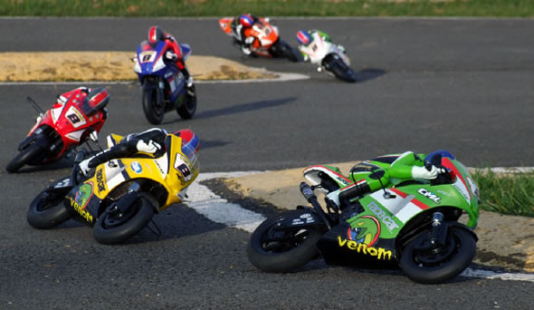 1:8 Scale RC bike racing