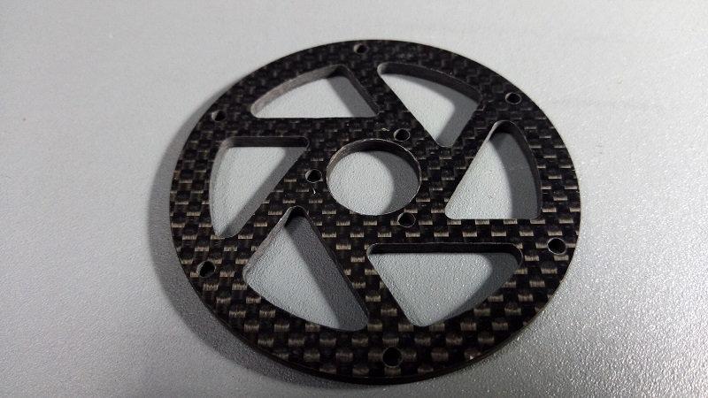 ZH-Racing Rear Carbon spokes