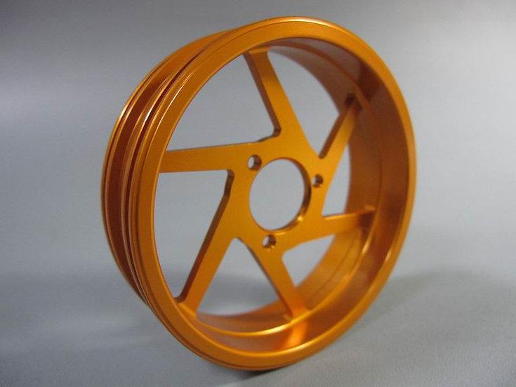 ZH Racing Z-205B Wheel 6 Spoke Rear Gold