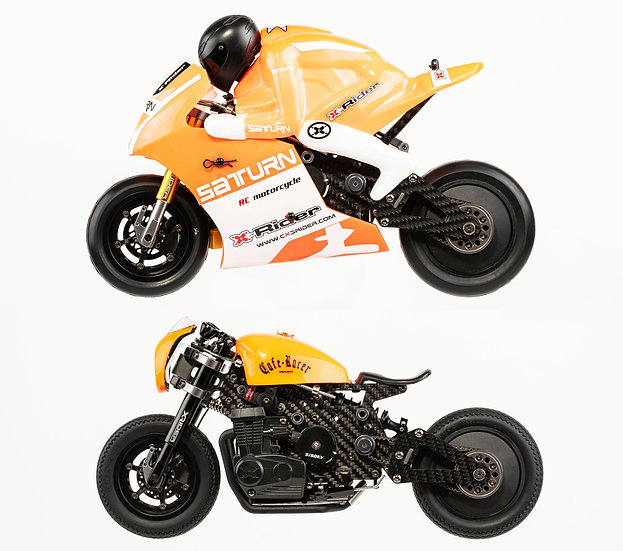 X-RIDER CAFE RACER 1:8 Conversion Kit
