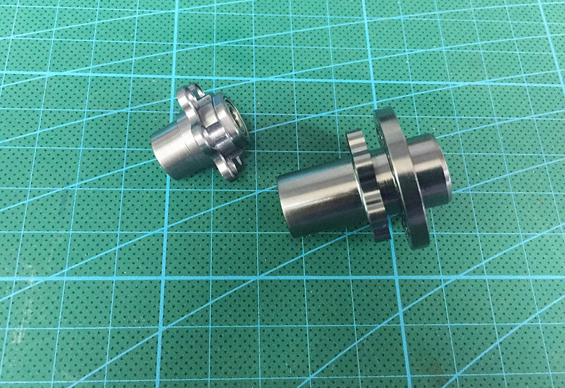 Front Hub 1:8 Bike for GRP Rim and Tyre