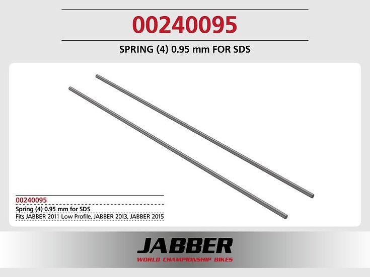 SDS Spring (4) 0.95mm