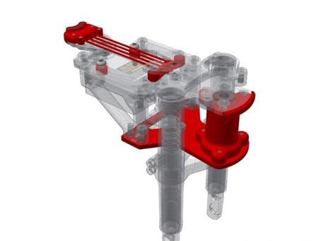 RC Bike Steering, How does it work??