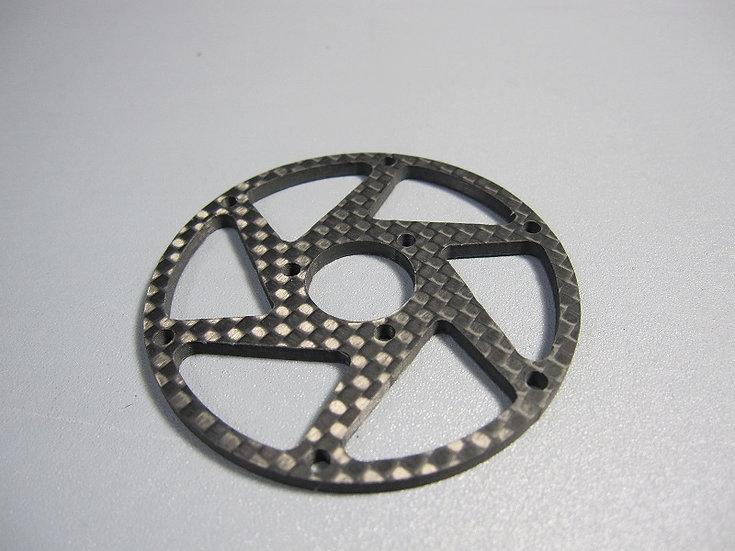 ZH-Kyosho Rear Carbon spoke rim (Type 2)