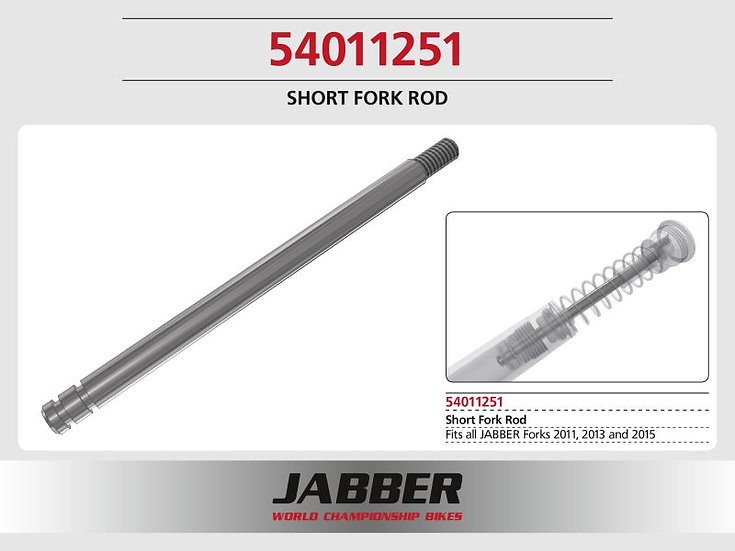 Lightscale Fork piston shaft (Short)
