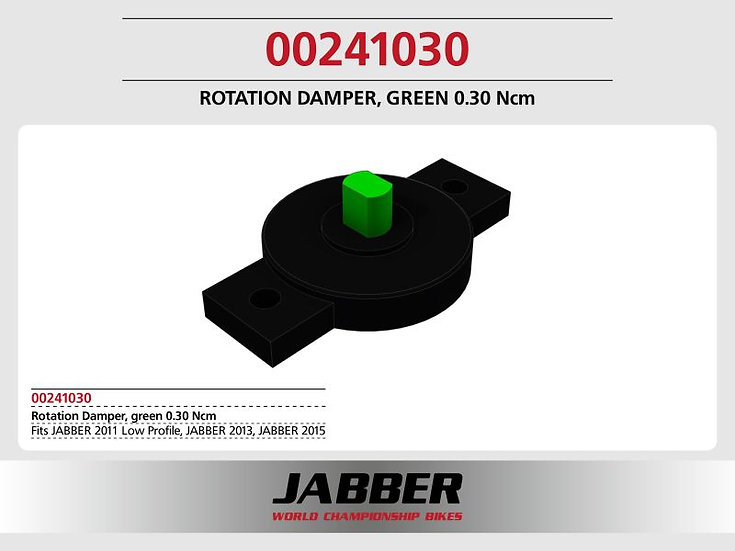 Rotating damper Green 0.30 Ncm SDS 2.0.