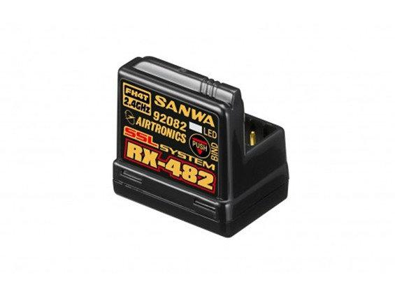SANWA RX-482 2.4GHz FHSS4 Spread Spectrum System 4Ch Receiver
