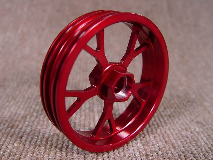 ZH Racing Z-205B Wheel Y Spoke Front Red