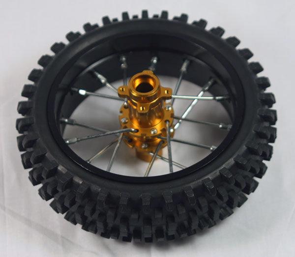 Nuova Faor Knobby Tire & Wheel (rear) - CSF411