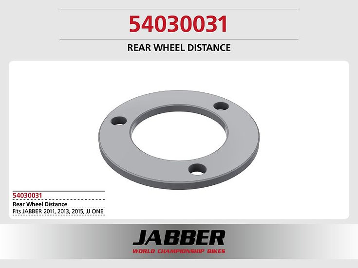 Compensating wheel hub star 2016, Alu Jabber