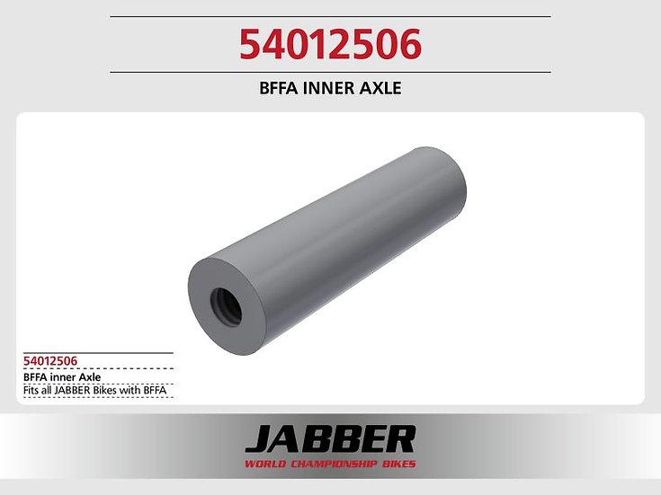 Front axle inside, BFFA 2016 aluminum