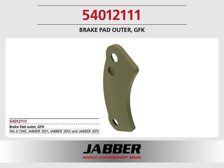 Brake pad fiberglass, Jabber bikes