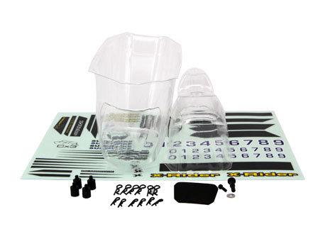 CX-3 Fairing kit clear