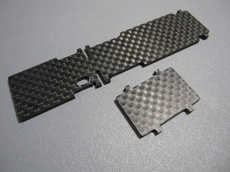 ZH-Racing Battery and receiver plates Z-218B