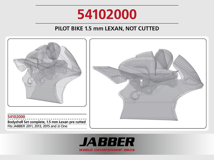LIGHTSCALE Panel complete 1.5mm (front + driver / seat) for JABBER Bike