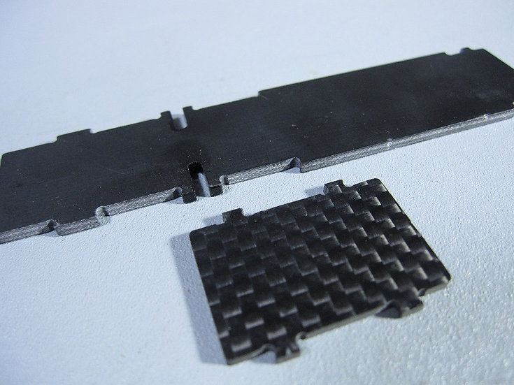 Z-216B Carbon Battery Frame