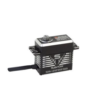 Savox SB-2292SG Black Edition Monster Torque Brushless Steel Gear Servo