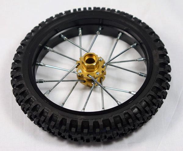 Nuova Faor Knobby Tire & Wheel (front)  CSF-411