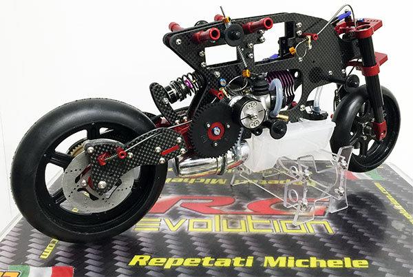 EVO 5R  1:5 RG Evolution Nitro Bike