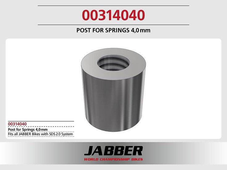 Sleeve (2), steel 2,5x4,0x4,0 Jabber for spring preload SDS 2.0