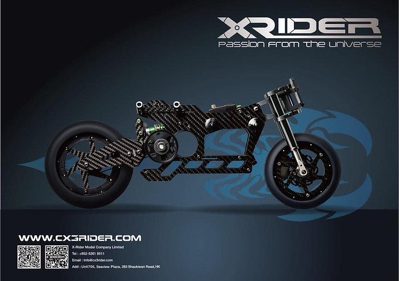 X-RIDER SCORPIO 1:5 Electric Full Motorcycle Kit V2