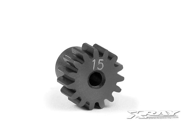 Xray Steel Micro Pinion Gear 48dp - 15T
