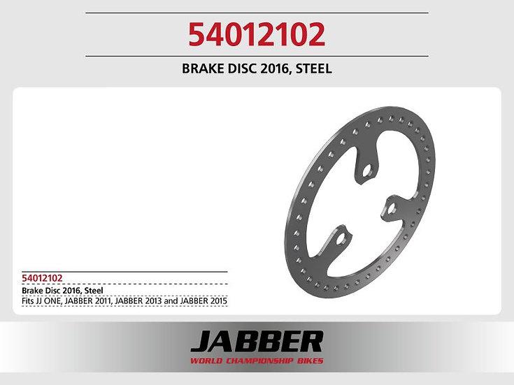 Brake disc BFFA steel for front brake Jabber