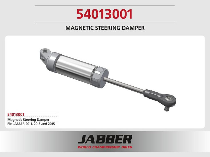 LIGHTSCALE / Jabber magnetic steering damper with aluminum housing