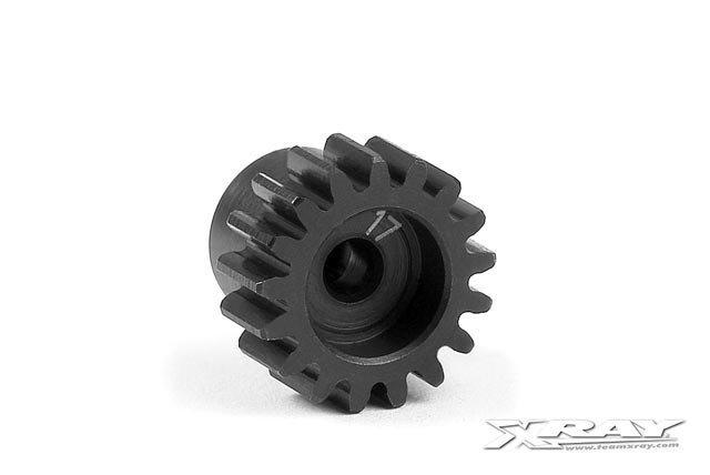 Xray Steel Micro Pinion Gear 48dp - 17T