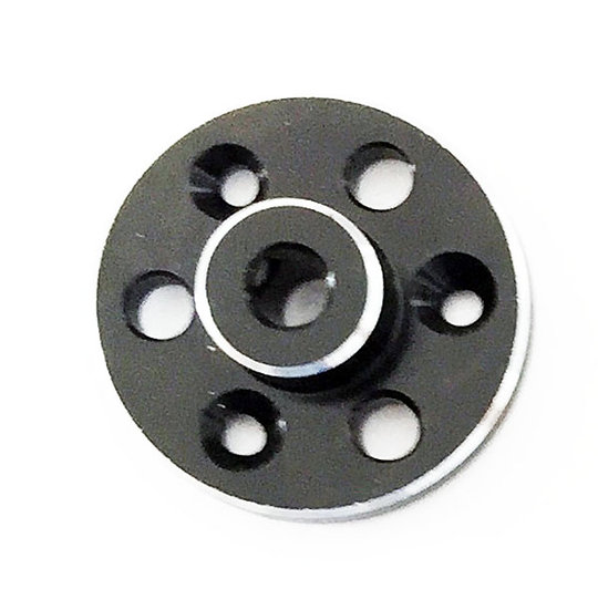 Nitro black crown/spur gear support