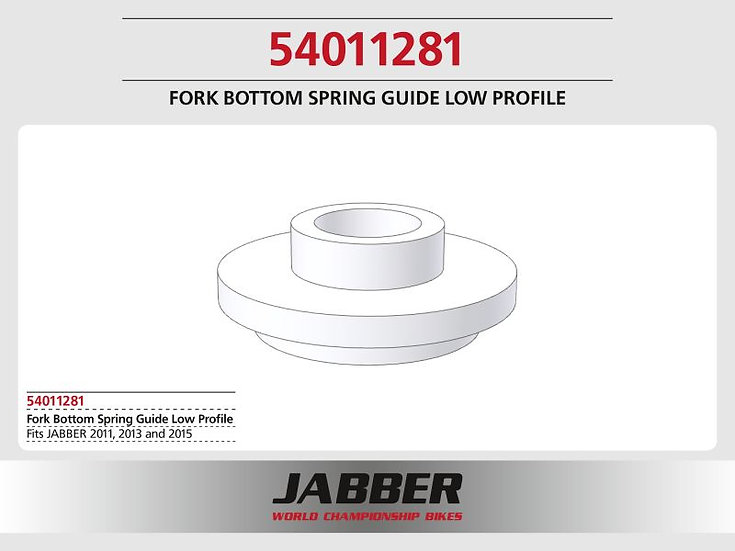 Low profile Fork, lower spring guide