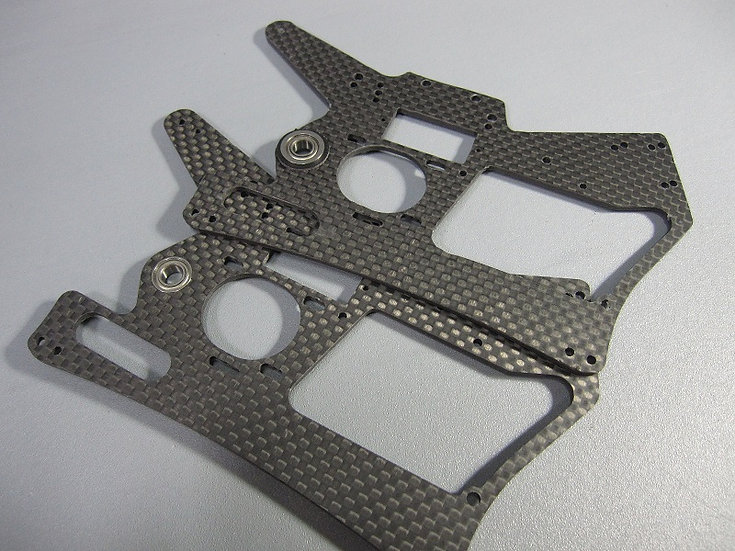 ZH-Racing main chassis plates Z-219B