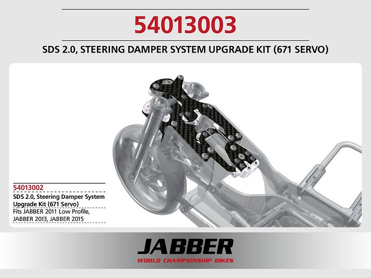 LIGHTSCALE SDS 2.0 Steering Damper System Upgrade Kit (Futaba BLS671SV Servo)